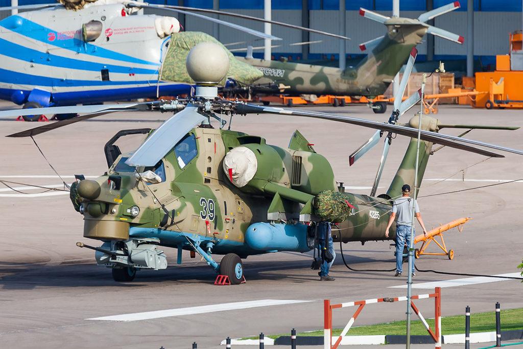 Опытный образец Ми-28НМ.  Алексей С