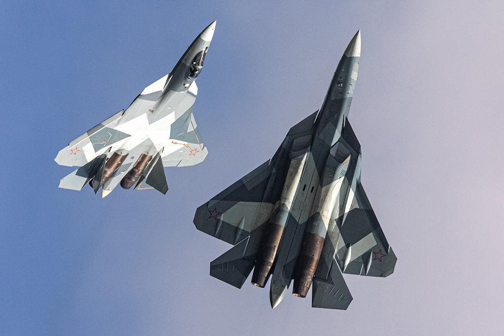 Су-57.  Дмитрий Шваб | Военная фотография