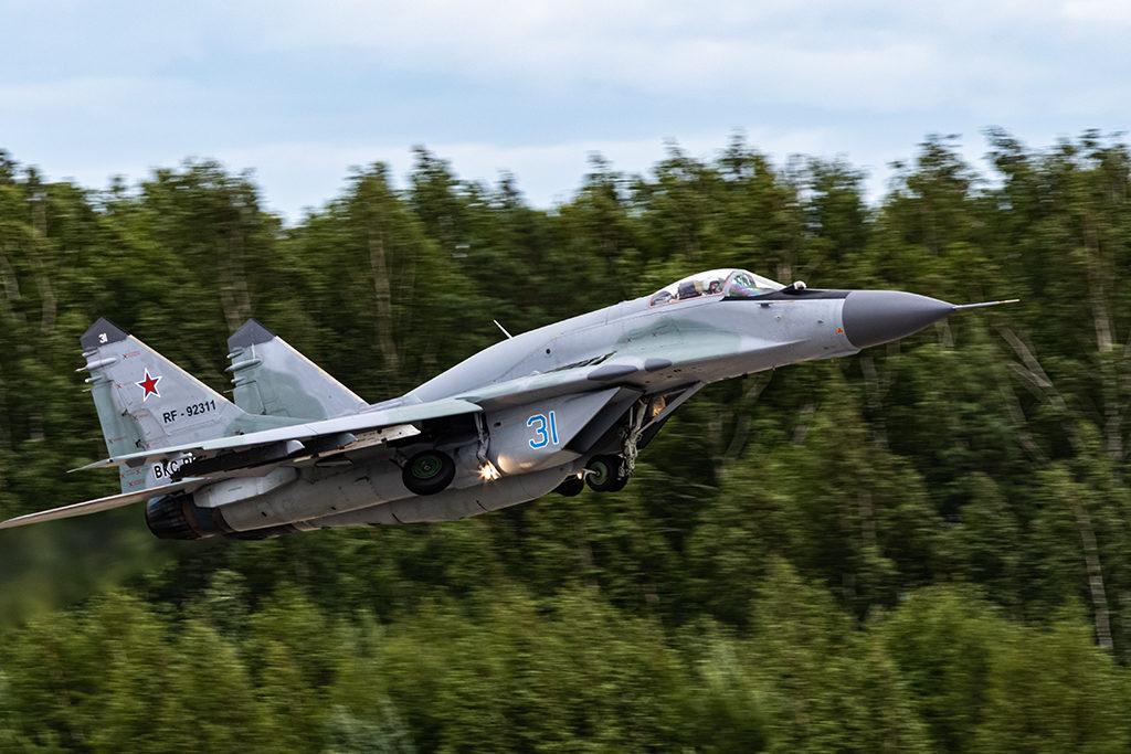 МиГ-29СМТ, взлет. Дмитрий Шваб | Военная фотография