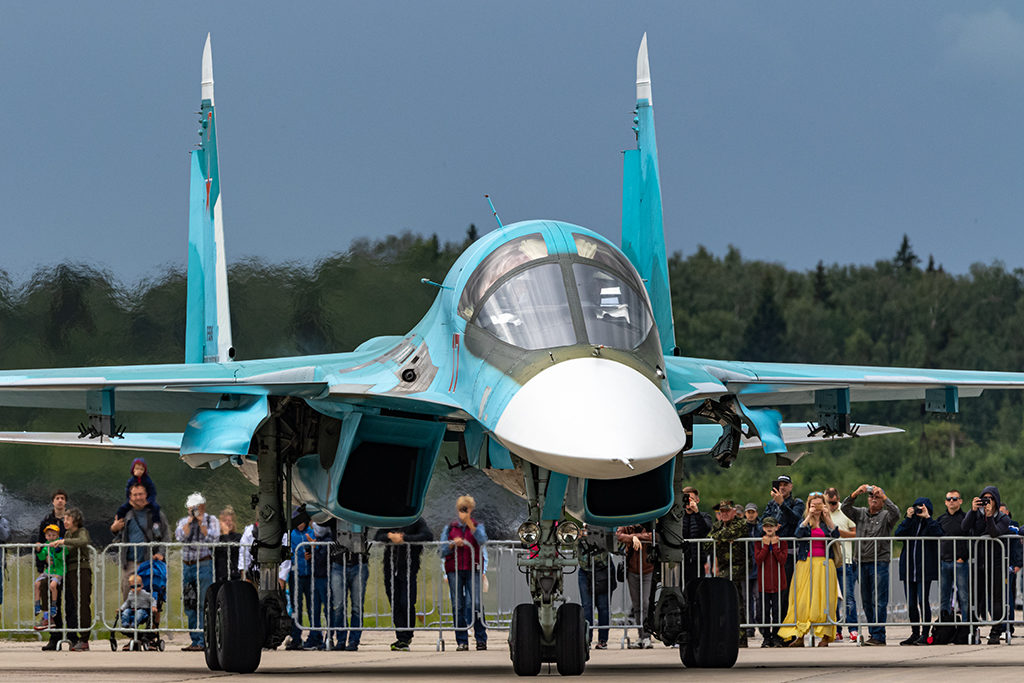 Су-34.   Дмитрий Шваб | Военная фотография