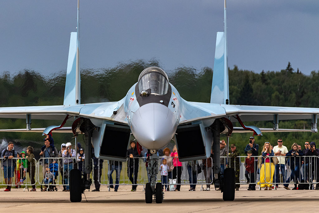 Су-35С.  Дмитрий Шваб | Военная фотография