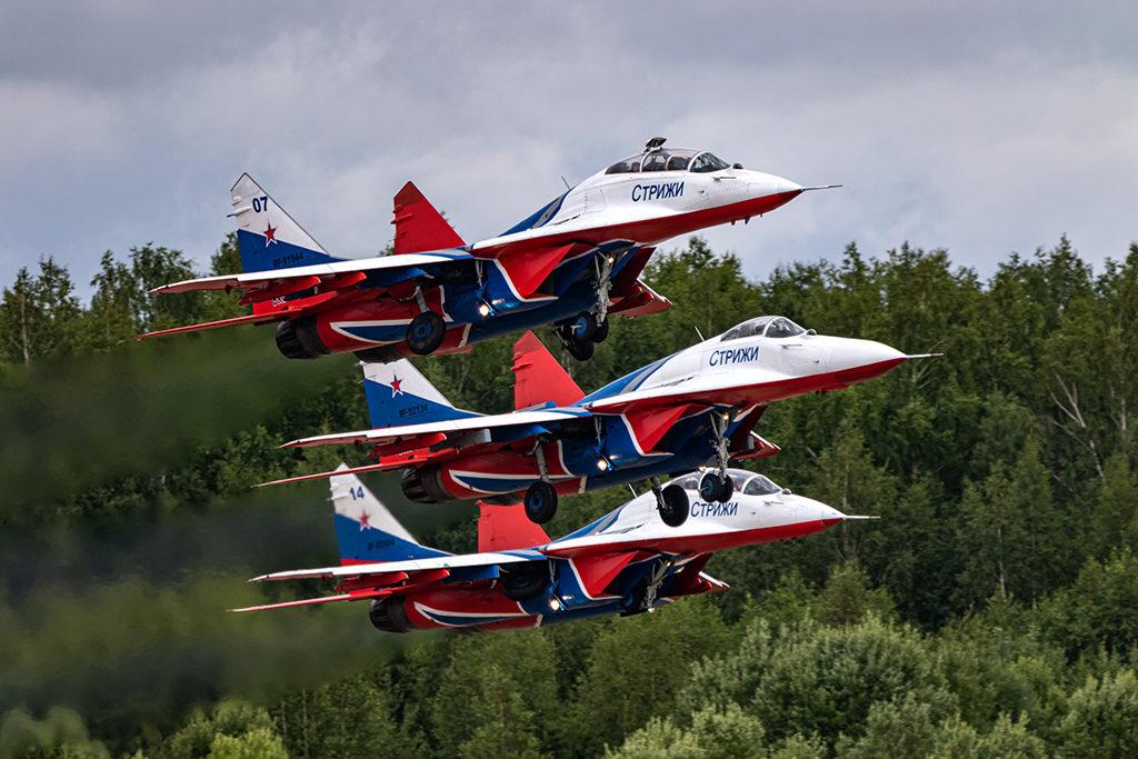 "АГВП ""Стрижи"" на МиГ-29.  Дмитрий Шваб | Военная фотография"