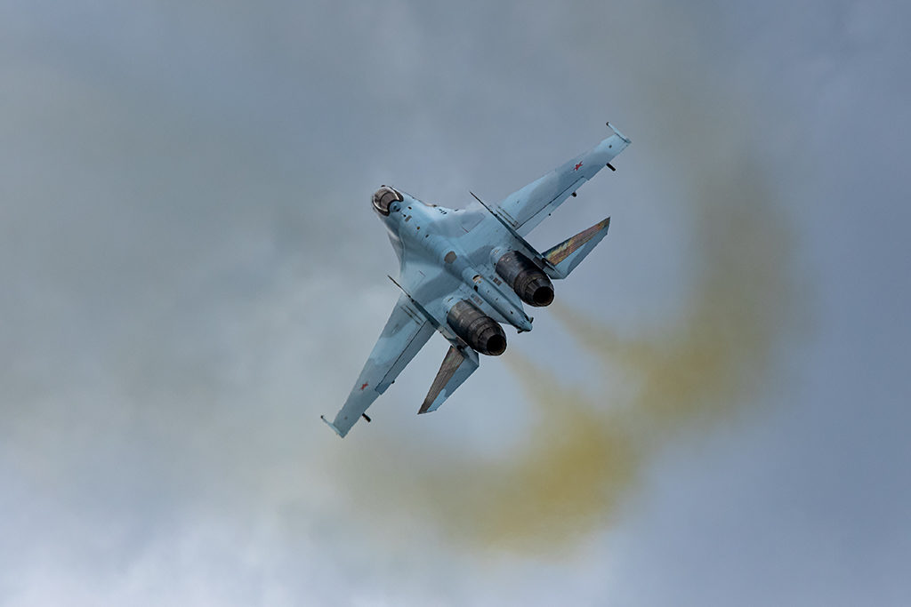 Пилотаж Су-35С.  Дмитрий Шваб | Военная фотография