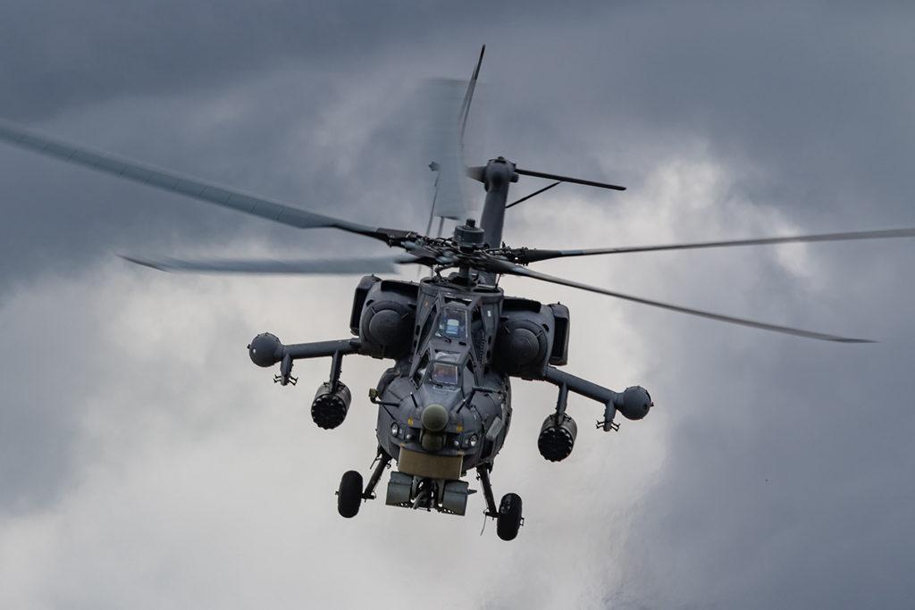 Ми-28Н Миняйло соло-пилотаж