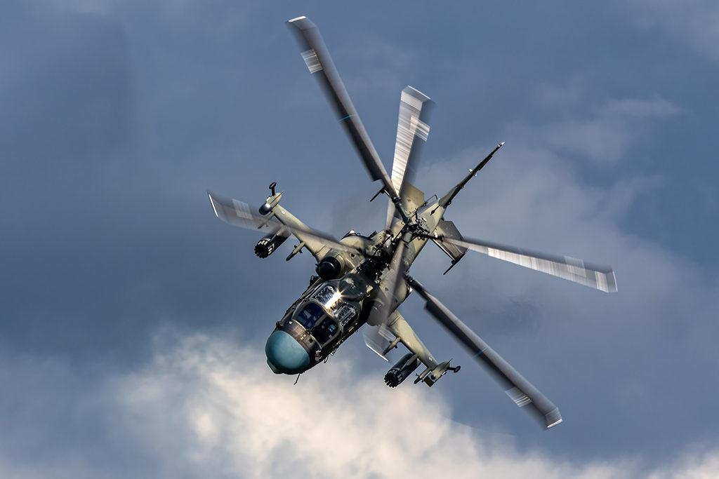 Ка-52 Бакин пилотаж