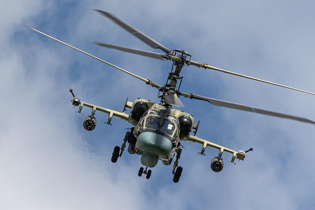Не отстает от Ми-28Н и его собрат - Ка-52.  Дмитрий Шваб | Военная фотография