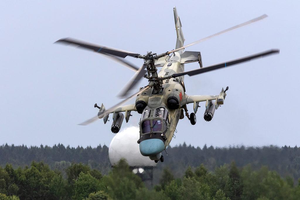 Ка-52 Бакин поклон