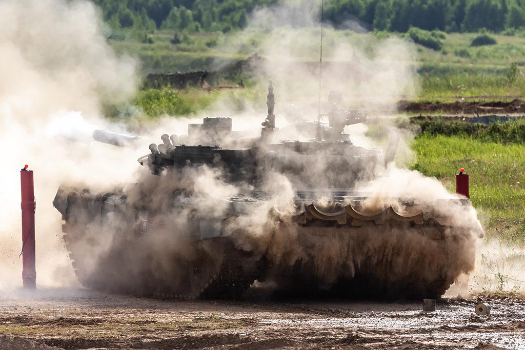 Т-72Б3  после выстрела. Дмитрий Шваб | Военная фотография