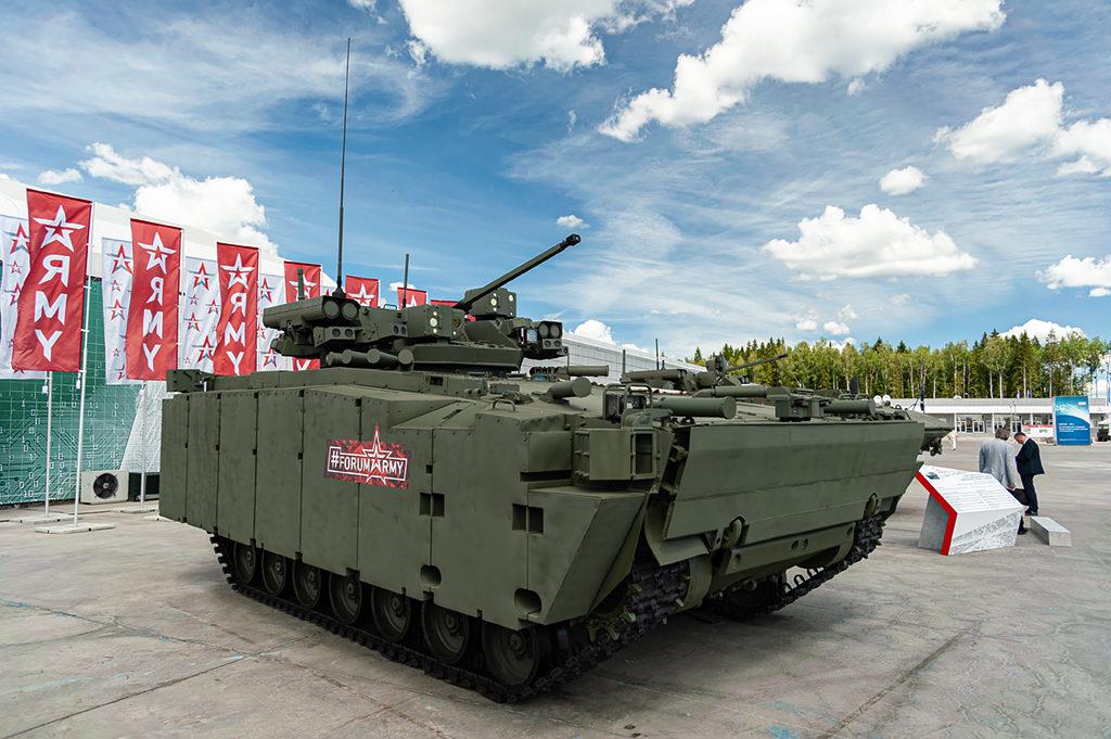 "ТБМП Б-11 на платформе ""Курганец-25"".  Дмитрий Шваб | Военная фотография"