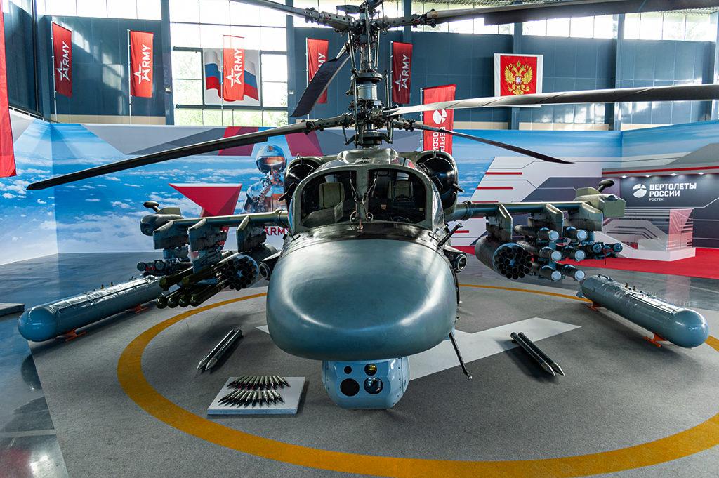 Ка-52 доработанный с учетом опыта применения в САР. Дмитрий Шваб | Военная фотография