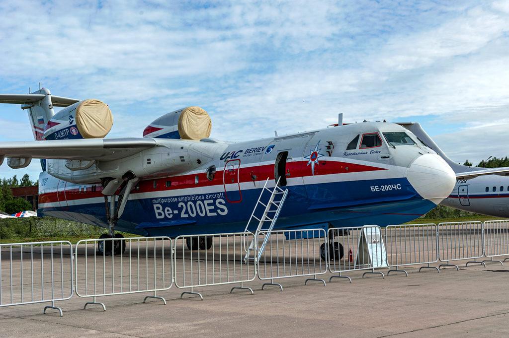 Самолет-амфибия Бе-200.  Дмитрий Шваб | Военная фотография