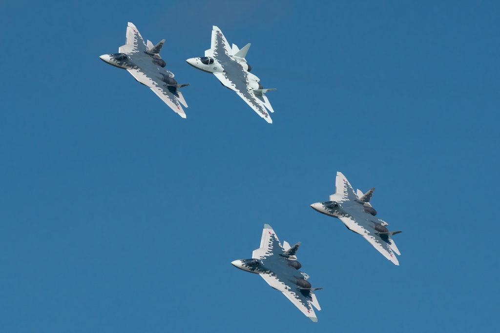 Четверка Су-57