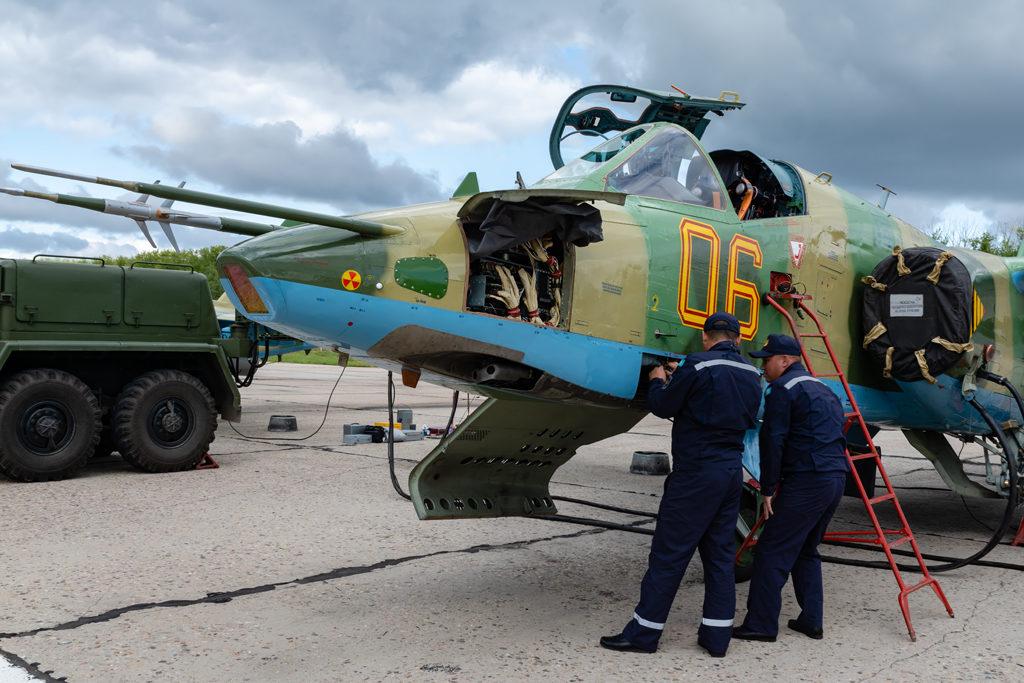 Авиадартс-2019. Подготовка Су-25 ВВС Казахстана