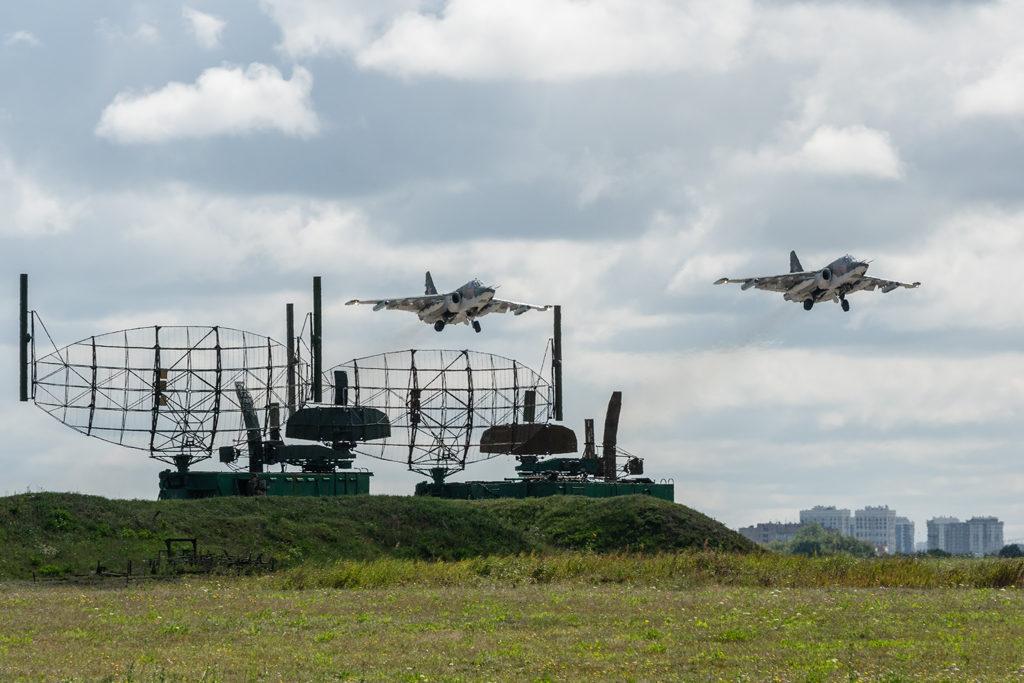 Авиадартс-2019. Су-25. Взлет парой.
