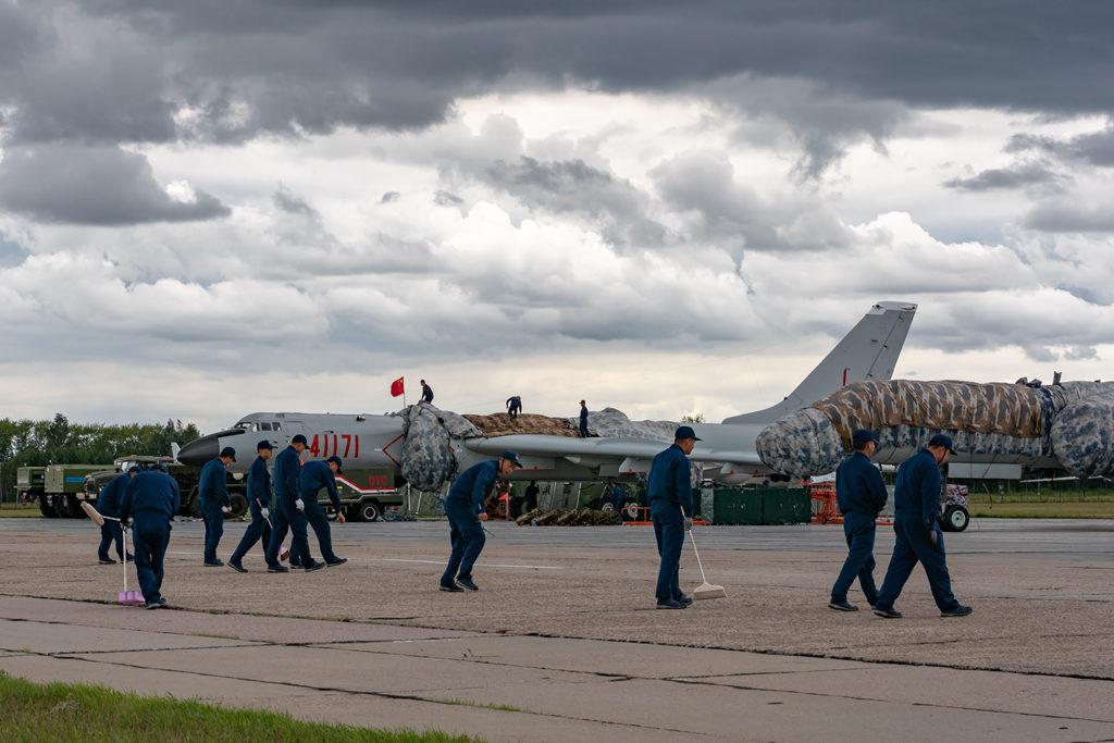 Авиадартс-2019. Стоянка китайских ВВС