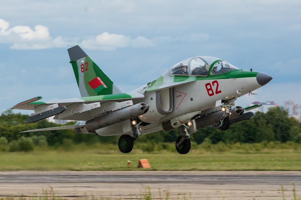 Авиадартс-2019. Як-130 ВВС Республики Беларусь