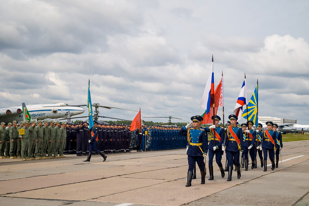 Авиадартс-2019. Церемония открытия