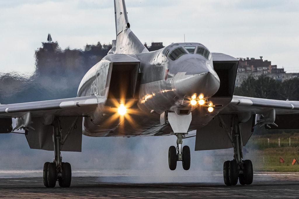 Авиадартс-2019. Посадка Ту-22М3