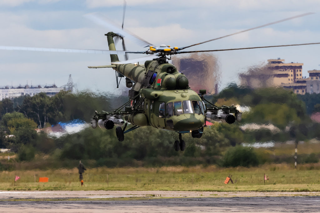 Авиадартс-2019. Ми-8 ВВС Беларуси