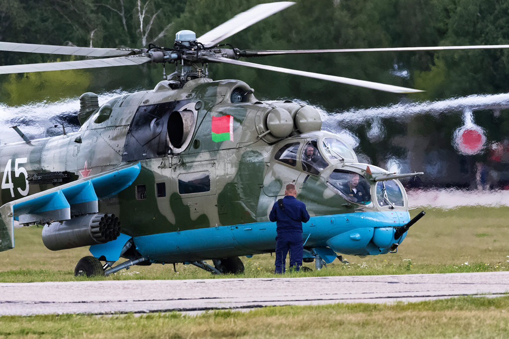 Авиадартс-2019. Ми-24 ВВС Беларуси