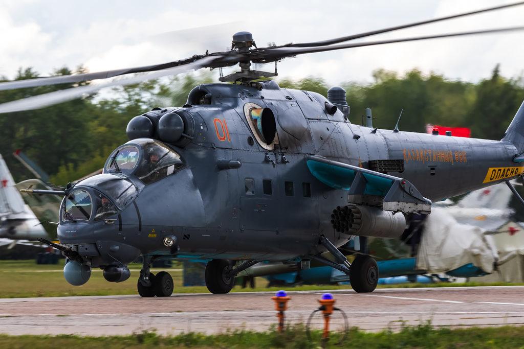 Авиадартс-2019. Ми-35 ВВС Казахстана