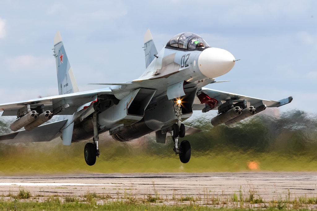 Авиадартс-2019. Су-30СМ ВКС РФ