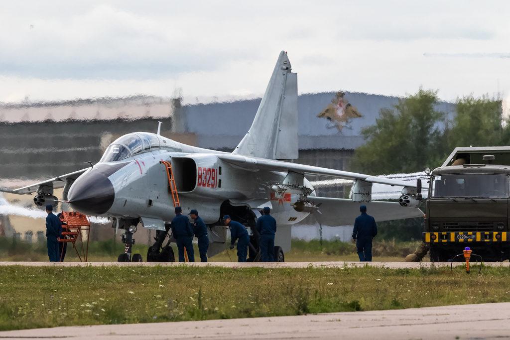 Авиадартс-2019. Xian JH-7. Подготовка к вылету