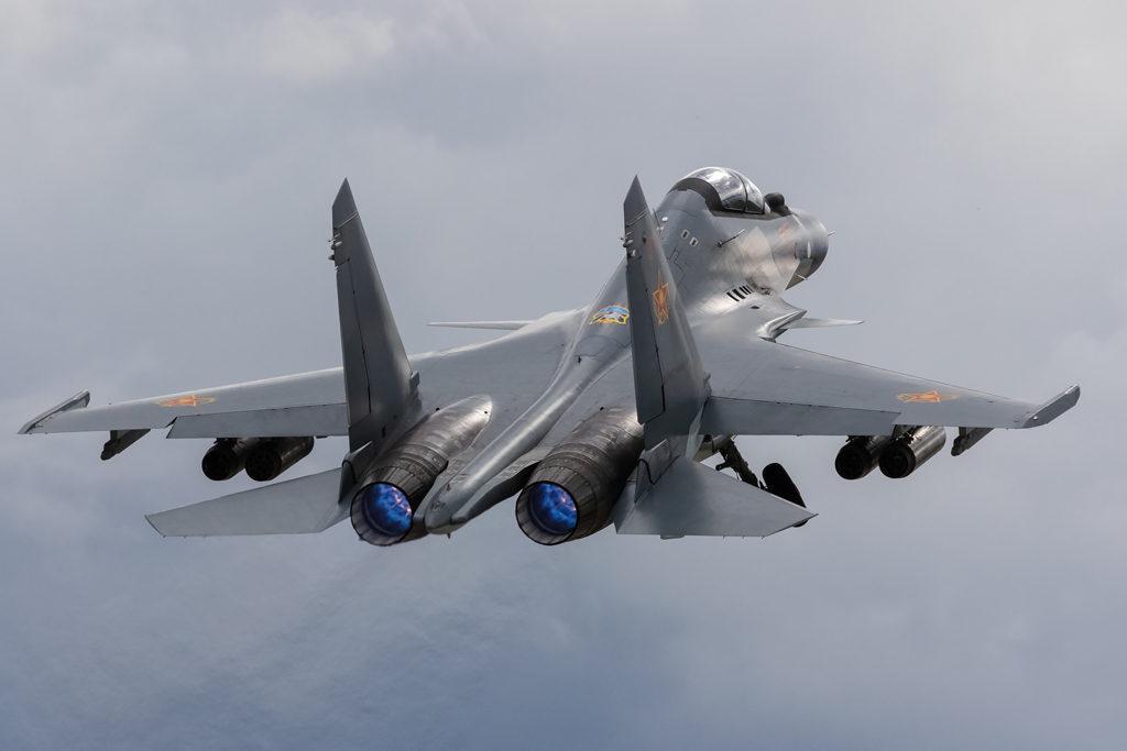 Авиадартс-2019. Взлет Су-30СМ