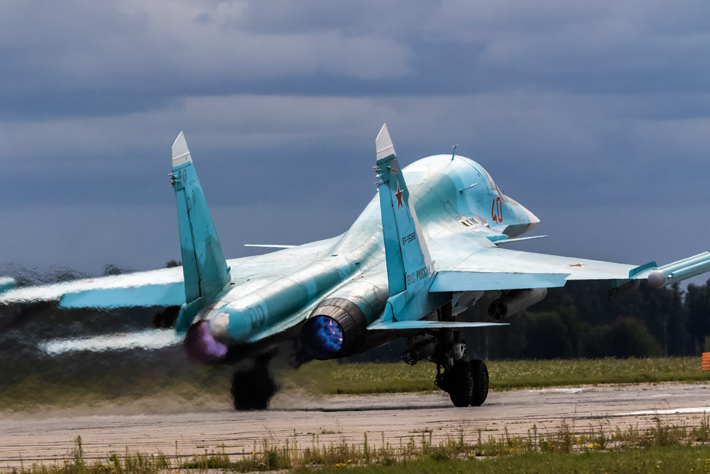 Авиадартс-2019. Взлет Су-34