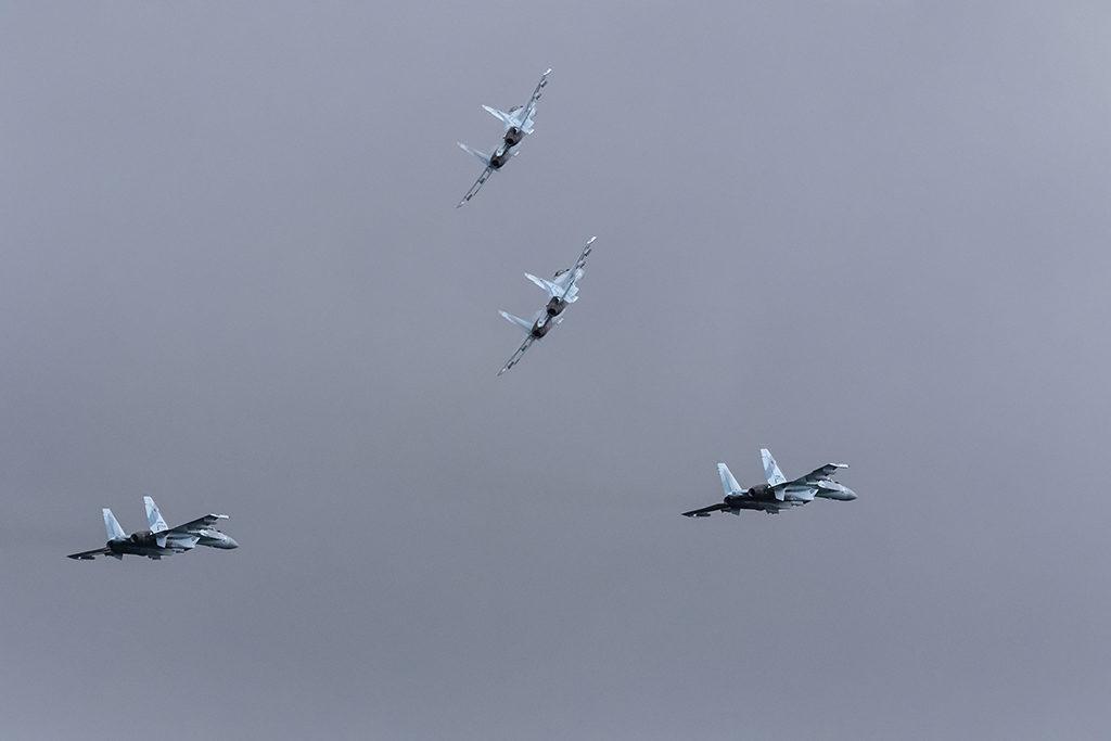Су-35С. Ближний бой