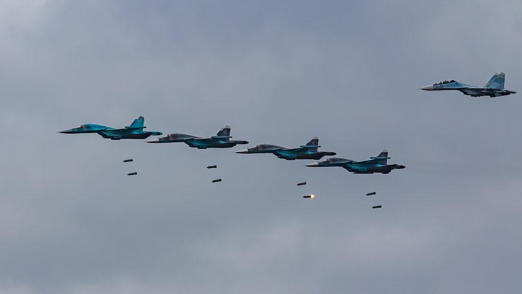 Су-34. Бомбометание