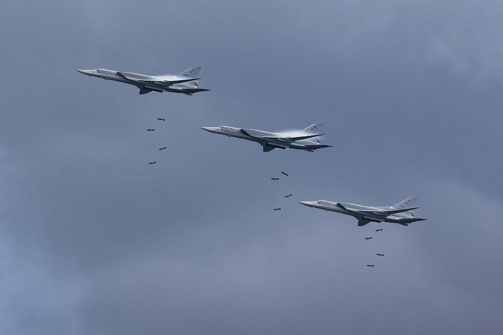 Ту-22М3. Бомбометание