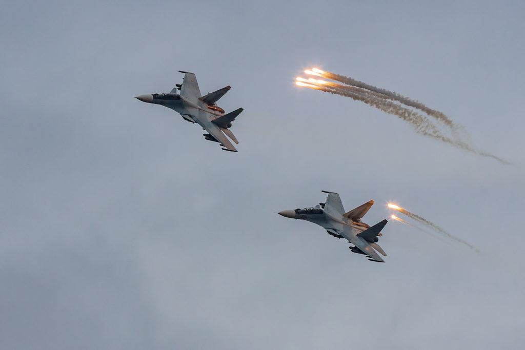 Звено Су-30СМ