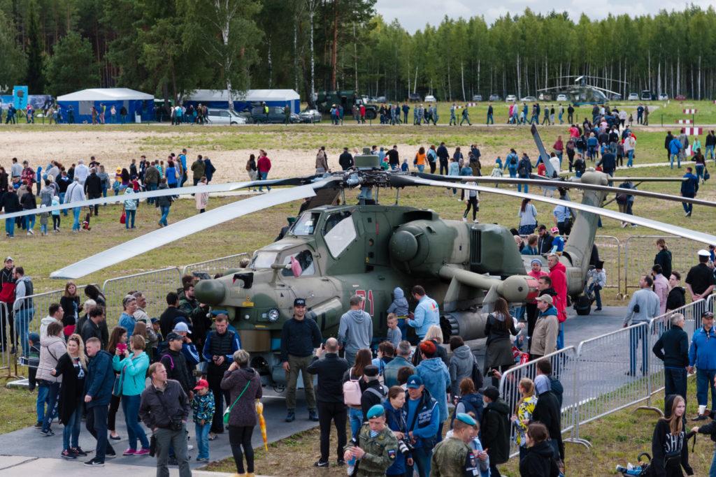 Ми-28Н на статике