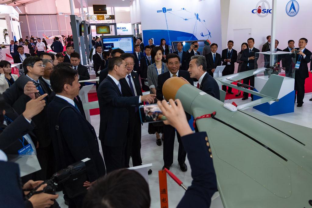Китайская экспозиция на МАКС-2019