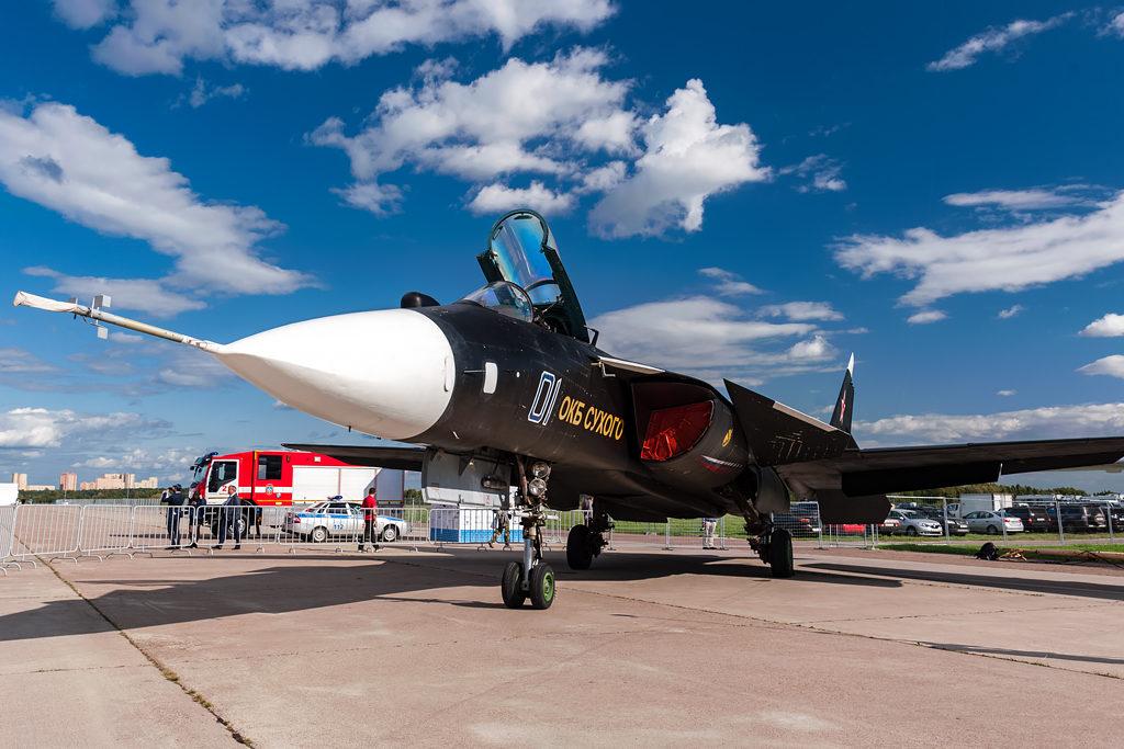 """Су-47 """"Беркут"""" на МАКС-2019"""