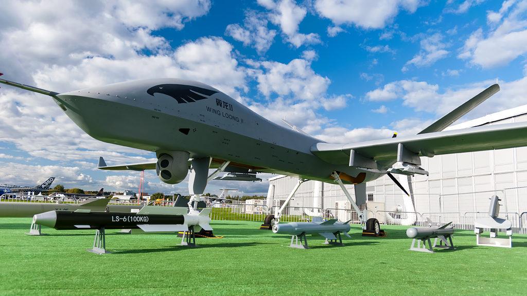 Wing Loong II на МАКС-2019